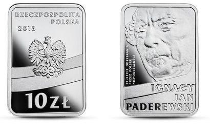 Moneta Paderweski. Konkurs na monete paderewskiego. Kolekcjonerska moneta Paderewski