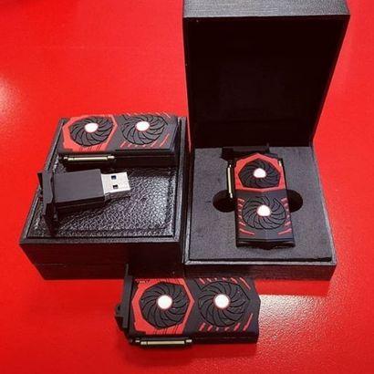 Wygraj limitowany pendrive MSI 32 GB o wyglądzie karty graficznej MSI, konkurs promocyjny, konkursn na pendrive