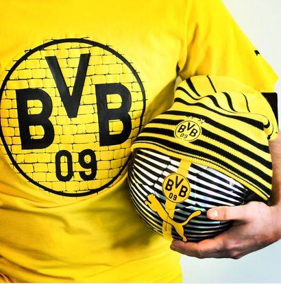 """Konkurs na zestaw kibica Borussia Dortmund. Konkurs promocyjny """"Tworzymy Żółtą Ścianę"""".Konkurs przedmiotowy, promocyjny, literacki, z nagrodami, piłka nożna, borussia dortmund"""