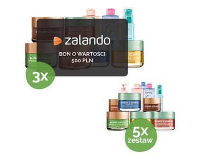 Wygraj 500 zł do Zalando oraz zestaw kosmetyków L'Oreal. Konkurs zalando. Konkurs promocyjny 2019. AKtualne konkursy zalando, buty moda