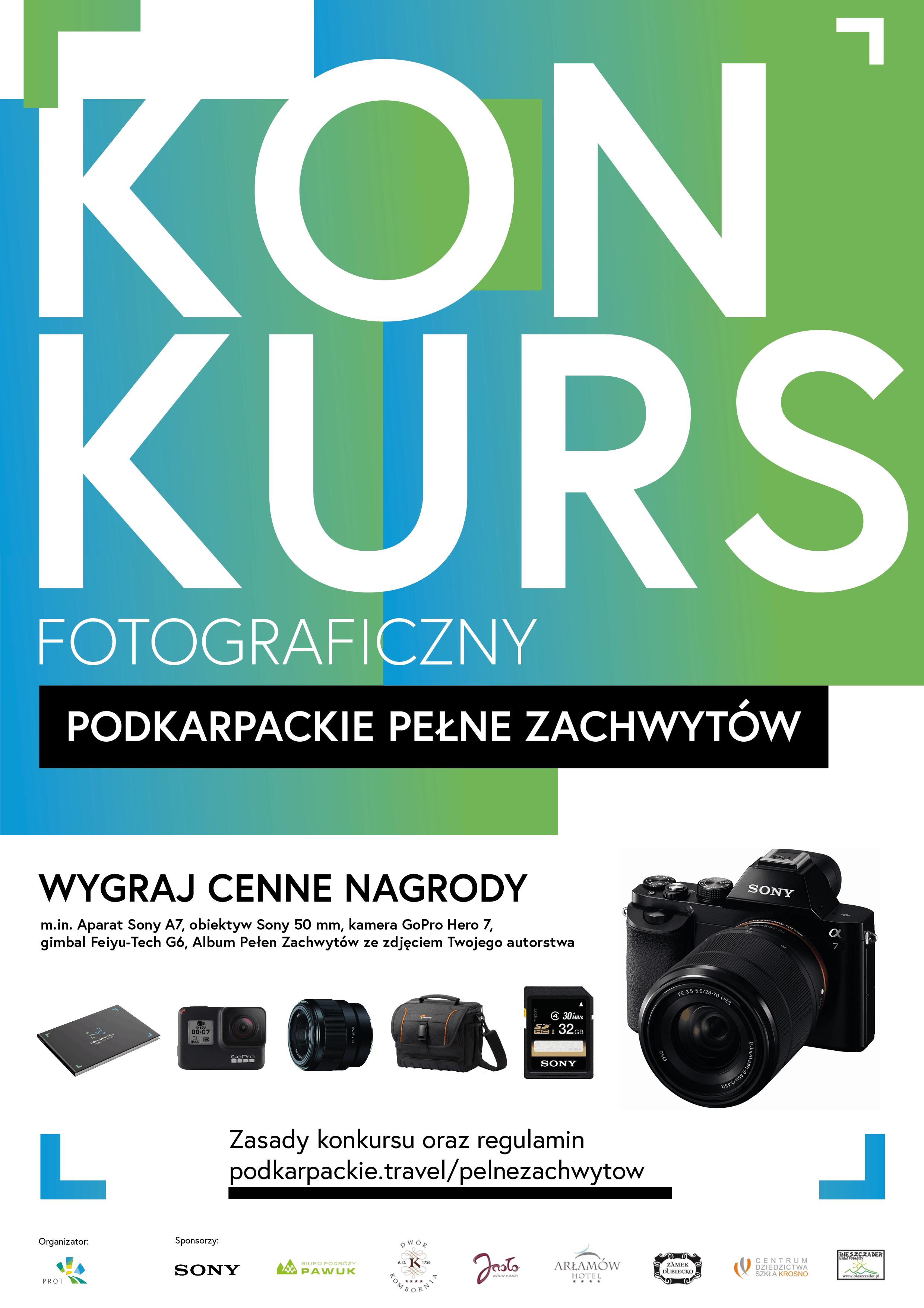 """Konkurs fotograficzny: """"Podkarpackie Pełne Zachwytów"""" 2019"""