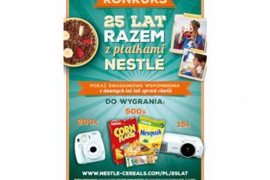 Konkurs Nestle. Wygraj projektor.