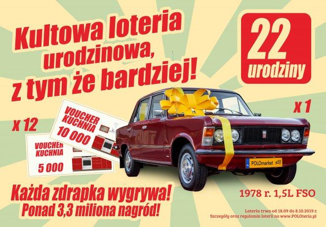 Loteria promocyjna marki POLOMarket. Każda zdrapka wygrywa!