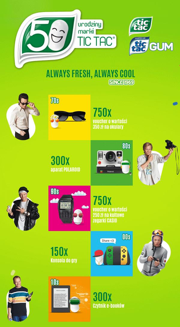 Loteria promocyjna marki Tic Tac