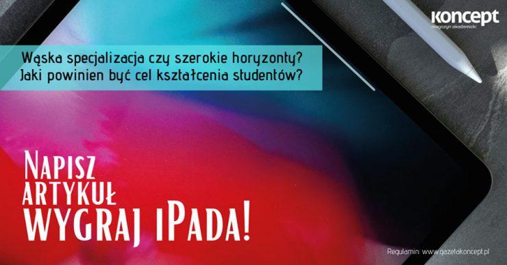 Konkurs literacki. Wygraj iPada!