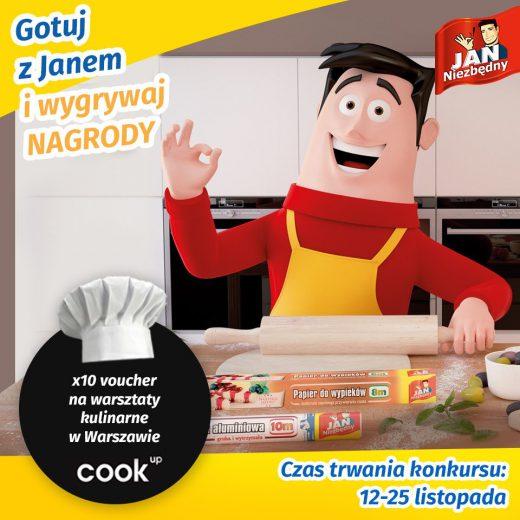 Gotuj z Janem i wygrywaj nagrody!
