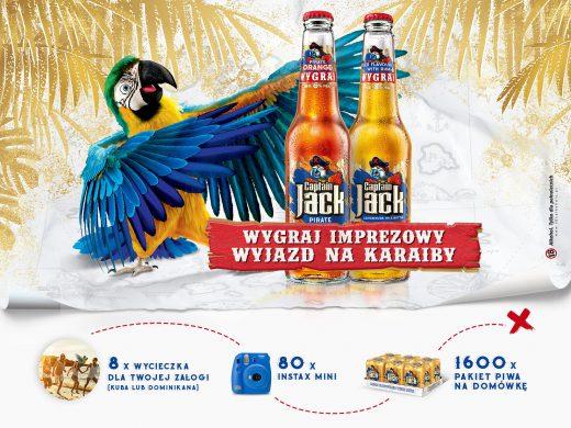Konkurs Captain Jack - Leć na Karaiby!