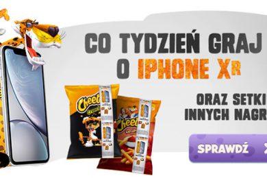Konkurs Cheetos - wygraj iPhone XR