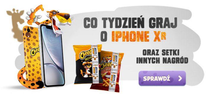 Konkurs promocyjny Cheetos - wygraj iPhone XR