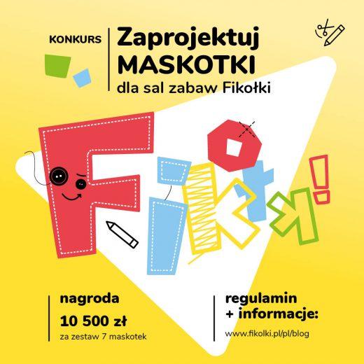 Konkurs plastyczny - zaprojektuj maskotki