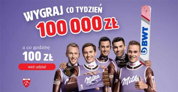 Konkurs promocyjny Milka - wygraj pieniądze