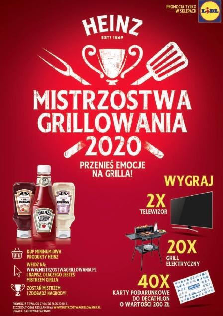 """Konkurs promocyjny """"Mistrzostwa Grillowania 2020"""""""