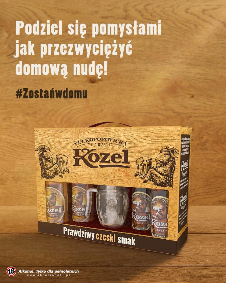 Opisz swój sposób na nudę i wygraj giftpack marki Kozel!