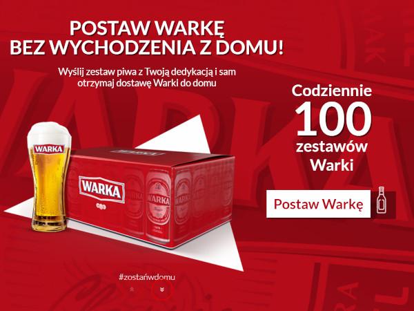 Konkurs Postaw Warkę - wygraj zestaw piwa