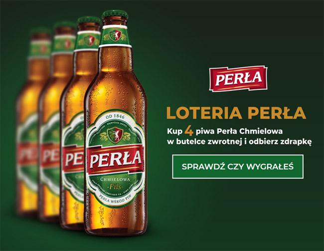 Loteria promocyjna Perła - wygraj pieniądze