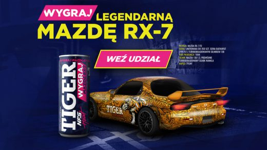 Loteria promocyjna Tiger - wygraj samochód