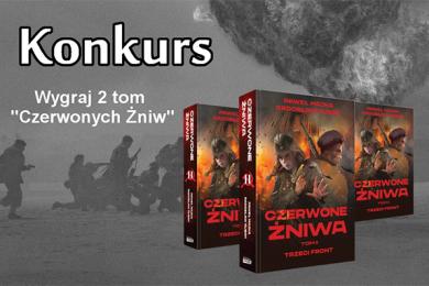 """Wygraj książkę """"Czerwone żniwa: Trzeci front"""""""