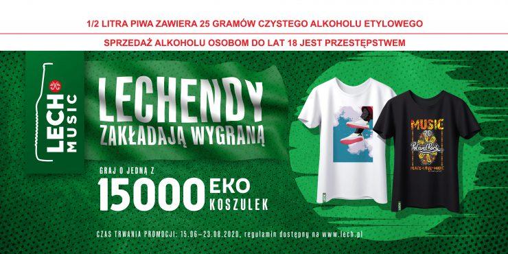 Lechendy zakładają wygraną - konkurs Lech Premium