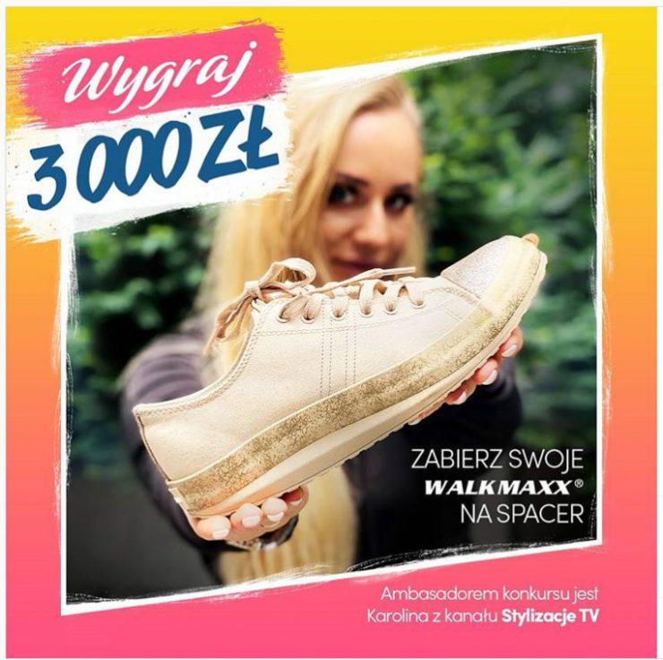 Konkurs Walkmaxx - wygraj 3000 złotych