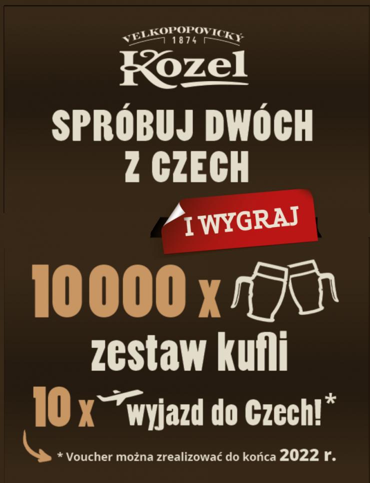 Konkurs Kozel - wygraj wyjazd do Czech