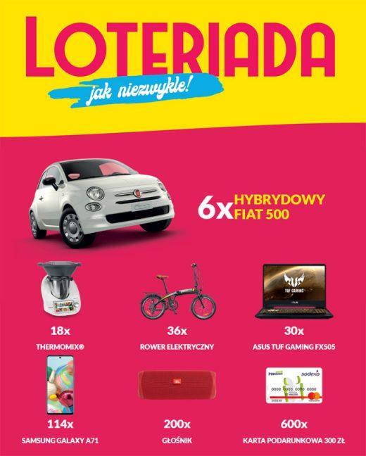 Loteriada Lotto 2020 - wygraj samochód