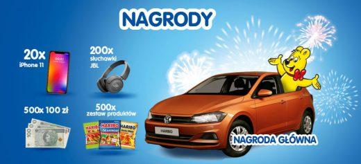 Loteria Haribo 2020 - wygraj samochód