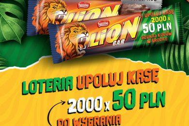 """Upoluj kasę"" - loteria Lion 2020"