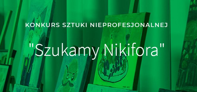 """Konkurs plastyczny """"Szukamy Nikifora"""""""