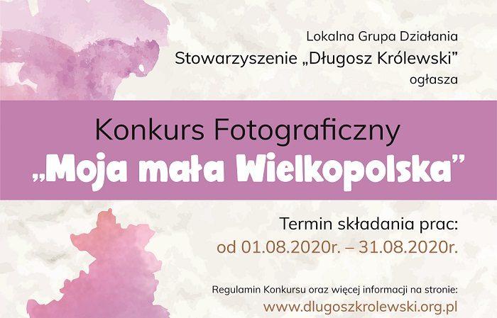 """Konkurs fotograficzny """"Moja mała Wielkopolska"""""""