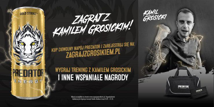 """""""Zagraj z Kamilem Grosickim i Predator Energy"""""""