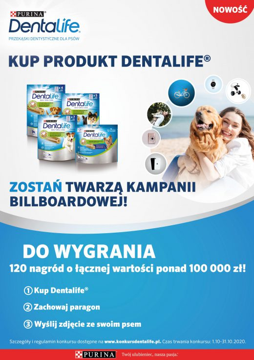 Konkurs PURINA® DENTALIFE®