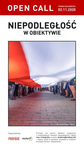 """Konkurs fotograficzny """"Niepodległość w obiektywie"""""""