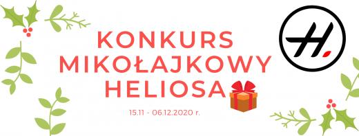 Konkurs mikołajkowy Heliosa
