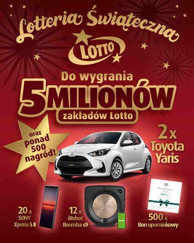 Loteria świąteczna LOTTO 2020 - wygraj auto