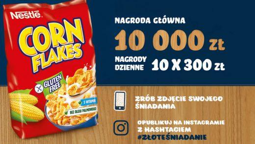 Konkurs kreatywny Nestle #Złoteśniadanie