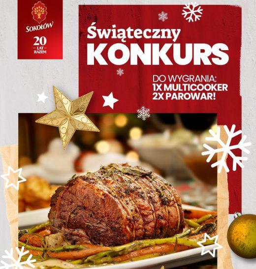 Świąteczny konkursu Sokołów na Facebooku