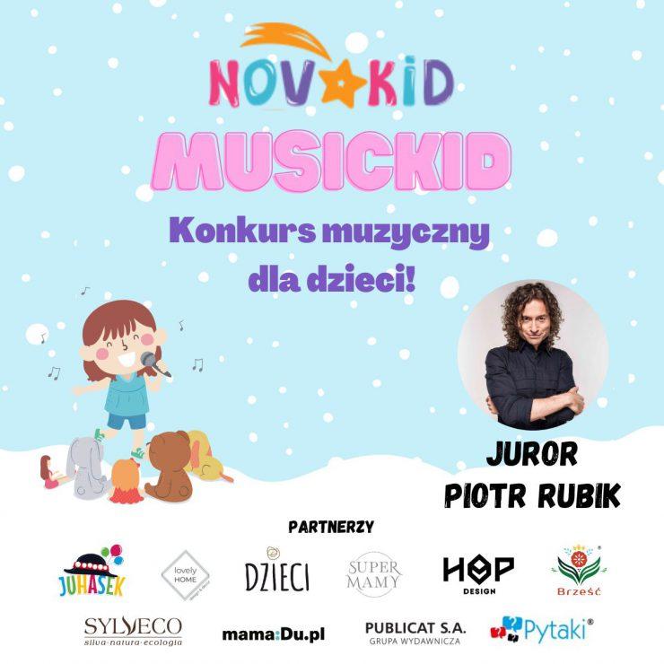 Konkurs dla dzieci Novakid's MusicKid