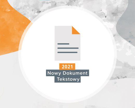 """Konkurs literacki """"Nowy Dokument Tekstowy"""""""