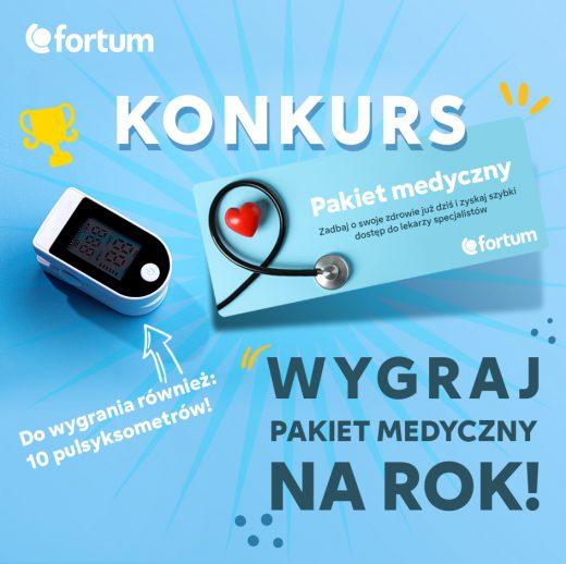 """Konkurs """"Rok opieki medycznej za darmo"""""""
