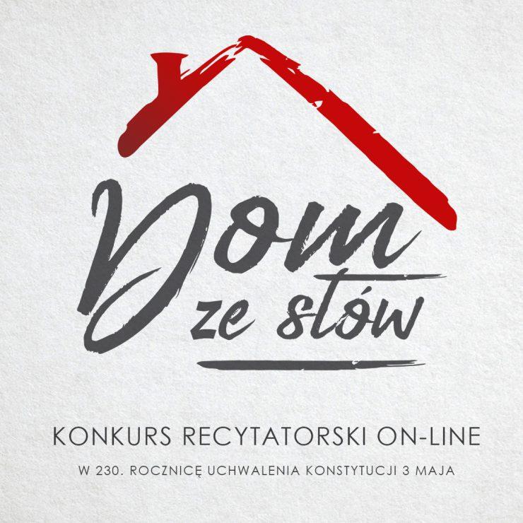 """Konkurs recytatorski on-line """"Dom ze słów"""""""