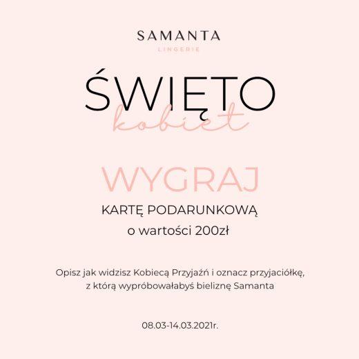 Konkurs Samanta Lingerie