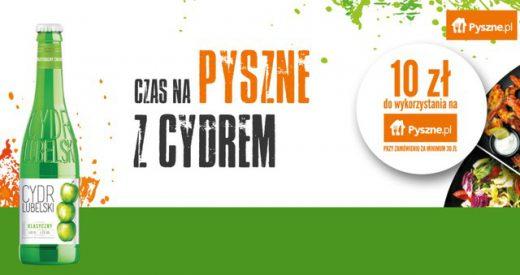 Konkurs promocyjny Cydr Lubelski - odbierz bon