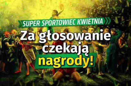 "Konkurs online ""Super sportowiec kwietnia"""