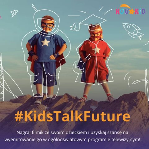Konkurs dla dzieci #KidsTalkFuture