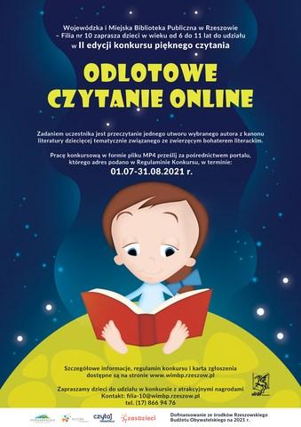 Konkurs dla dzieci Odlotowe Czytanie Online